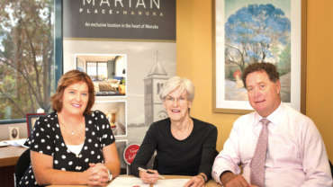 Marian Place 'the answer'